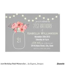 21st birthday invitations blueklip