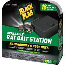 Home Depot Garden Flags Black Flag Refillable Rat Bait Station Hg 11057 The Home Depot