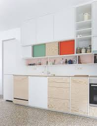 colour block kitchens by dries otten rotterdam kitchens and