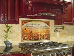 kitchen tile backsplash murals tile murals for kitchen