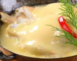 comment cuisiner le filet de colin recette de filets de colin à la sauce hollandaise allégée