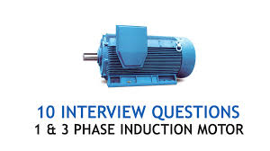 interview questions single phase induction motor im electrical