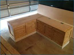 Corner Storage Bench Plans by Diy Corner Storage Bench Prepossessing With Additional Interior
