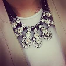 black fashion jewelry necklace images Free shipping statement austrian crystal flower necklace choker jpg