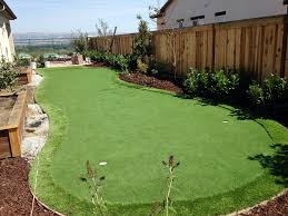 Backyard Putting Green Installation by Fake Grass Fairfield Texas Outdoor Putting Green Backyard Design