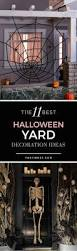 Halloween Party Room Decoration Ideas Best 25 Halloween Yard Decorations Ideas On Pinterest Diy