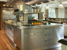stainless steel commercial kitchen cabinets light chandelier
