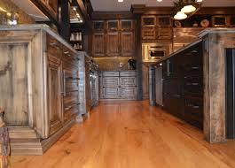knotty alder wood custom cabinetry mylen