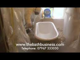Bathtub Re Enamel Bath Re Enamelling London 07967 333030 Youtube