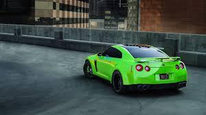 nissan sports car black black wheels cars green gtr nissan walldevil