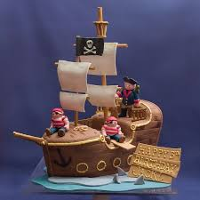 41 best pirate ship cake images on pinterest pirate ship cakes