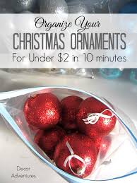 how to organize ornaments decor adventures