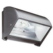 metal halide small bronze cut off wall pack