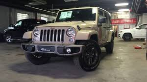 gobi jeep color 2017 75th anniversary jeep wrangler unlimited youtube
