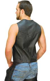 leather biker vest ccw pocket classic leather biker vest special vm0707gsp