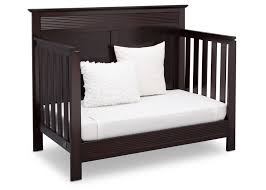 Davinci Kalani 4 In 1 Convertible Crib by Dark Wood Crib Easy On The Eye Baby Bed Design Ideas With White