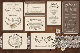 wedding program sles free 90 gorgeous wedding invitation templates design shack