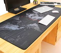 giant mouse pad for desk giant black world map mouse pad to assist in world domination
