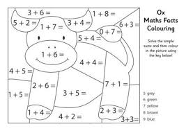 Math Facts Coloring Page Download Education Free Download Math Multiplication Coloring Page