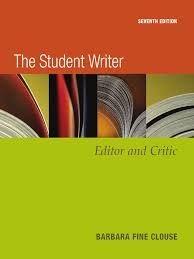 the student writer 7th edition 2006 pdf verb essays