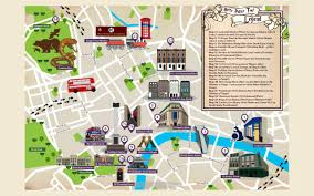 Harry Potter World Map by A Magical Guide To Harry Potter U0027s London London Perfect