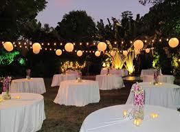 backyard night wedding ideas backyard fence ideas
