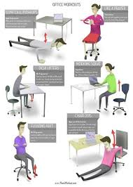 Office Exercises At Your Desk The Desk Workout You Can Try These While You Are On A