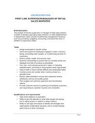 Call Center Supervisor Job Description Resume by Sanitation Worker Cover Letter