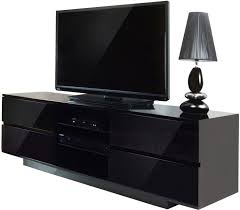 Black Storage Cabinet Black Led Tv On Rectangle Black Wooden Short Narrow Storage