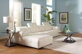 darby white sectional sofa u0026 armless chair sectional sofas coa