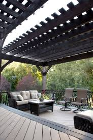 Solid Roof Pergola Kits by 72 Best Decks And Handrails Images On Pinterest Pergola Kits