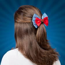 hair bow with hair woman hair bow thinkgeek
