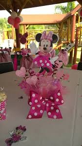 minnie mouse center pieces minnie mouse pink centerpiece party decoration birthday centerp