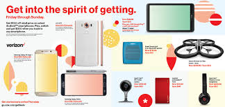 best deals on cell phones on black friday verizon u0027s black friday deals 5 days of specials on smartphones