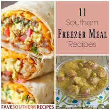 Southern Comfort Meals 11 Southern Freezer Meal Recipes Favesouthernrecipes Com