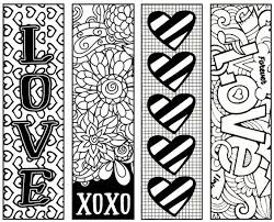 fun valentine u0027s bookmarks children color give gifts