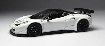 Ferrari 458 Italia White - model of the day oem ferrari 458 italia gt2 in black and white