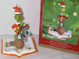 hallmark ornaments the grinch search my collection of