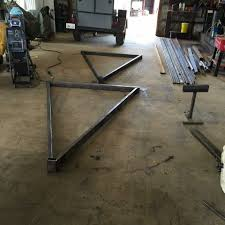 homemade gantry crane