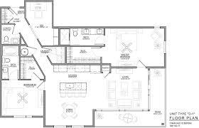 Den Floor Plan Downtown Kansas City Luxury Apartments Floor Plans 531 Grand