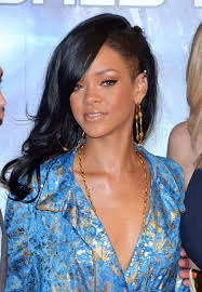 long hair styles with swoop bangs black hair rihanna long hairstyles layered black wavy hair style with side