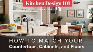 how to match granite to cabinets how to match your countertops cabinets and floors kitchen magic