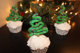 earth to kace christmas tree cupcake recipe