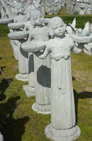 cement garden statues decor asian and statuary concrete