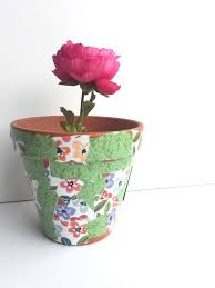 diy flower pot w expandable paper pads u2014 me u0026 my big ideas