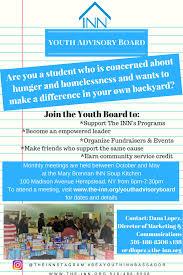 youth advisory board the inn