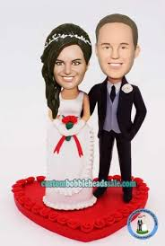 cake toppers bobblehead bobblehead wedding cake toppers