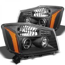 nissan armada accessories 2015 xtune 2004 2015 nissan titan headlights