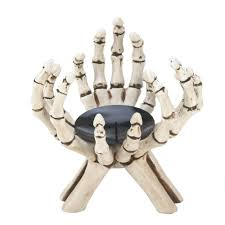 skeleton hands candle stand wholesale at eastwind wholesale gift