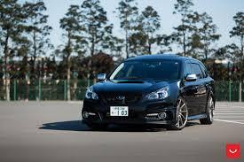 subaru cars black vossen wheels subaru legacy vossen cvt